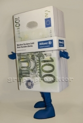 kostium reklamowy 100 euro