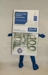 stroj maskotka 100 euro