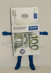 stroj reklamowy 100 euro