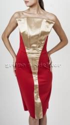 stroj hostessy sukienka FIVB 2014