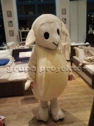 Owieczka Dormeo kostium reklamowy