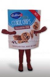 Strój maskotka ciasteczka Bahlsen