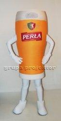 Szklanka Perła strój maskotka