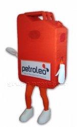 Kanister Petroleo strój reklamowy